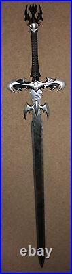 Dark Avenger Batman Sword Signal Emblem Cosplay LARP Fantasy Metal Dragon