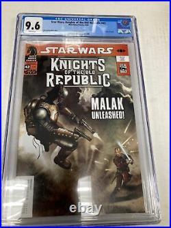 Dark Horse Comics Star Wars Knights Of The Old Republic 42 CGC Graded 9.6