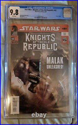 Dark Horse STAR WARS KNIGHTS OF THE OLD REPUBLIC #42 CGC Graded 9.8 2009