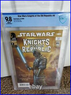 Dark Horse Star Wars Knights Of The Old Republic Complete Series #9 CBCS 9.8