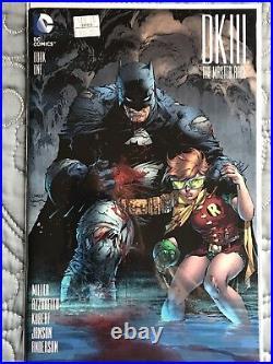 Dark Knight III The Master Race #1 Jim Lee 1500 Variant