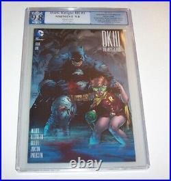 Dark Knight III The Master Race #1 PGX NM/MT 9.8 Jim Lee 1500 variant