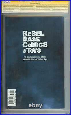 Dark Knight III The Master Race (dk3) #1 Cgc 9.8 // Rebel Base Ss Frank Miller