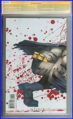 Dark Knight III The Master Race (dk3) #1 Cgc 9.8 Ss Signed Frank Miller ID 2938