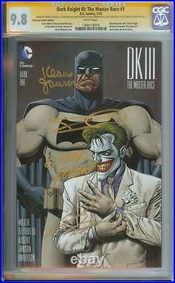 Dark Knight III The Master Race (dk3) #1 Cgc 9.8 // Third Eye Ss Frank Miller