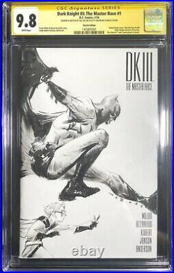 Dark Knight III the master race 1 -CGC 9.8- JAE LEE Original Art Sketch Batman
