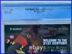 Dark Nights Death Metal Legends Of The Dark Knight #1 125 Variant Cgc 9.8