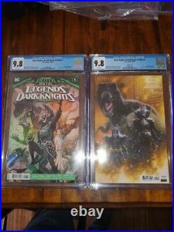 Dark Nights Death Metal Legends Of The Dark Knight #1 125 Variant Cgc 9.8 + Reg