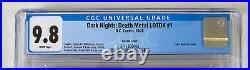 Dark Nights Death Metal Legends Of The Dark Knights 1 Cgc 9.8 125 Variant Lotdk