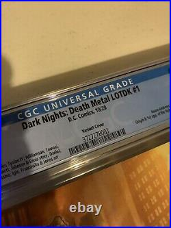 Dark Nights Death Metal Legends of the Dark Knight #1 125 Variant CGC 9.8 DC