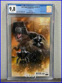 Dark Nights Death Metal Legends of the Dark Knight #1 Variant CGC 9.8 WP LOTDK