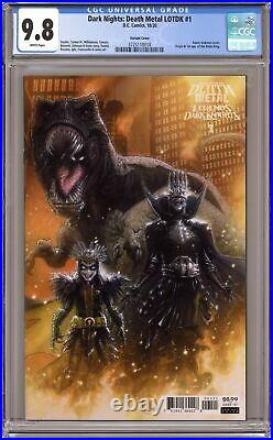 Dark Nights Death Metal Legends of the Dark Knights 1B Andrews 125 CGC 9.8 2020