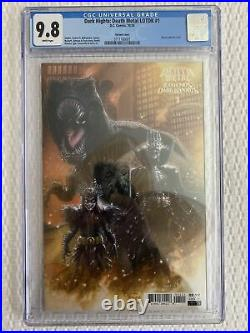 Dark Nights Death Metal Legends of the Dark Knights 1 125 variant CGC 9.8 LOTDK