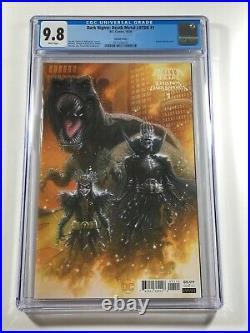 Dark Nights Death Metal Legends of the Dark Knights 1 CGC 9.8 Variant DC LOTDK