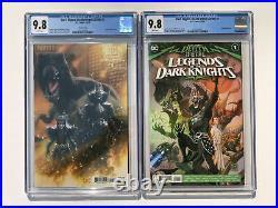 Dark Nights Death Metal Legends of the Dark Knights 1 CGC 9.8 X2 LOTDK Variant