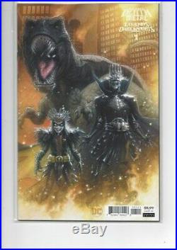 Death Metal Legends Of The Dark Knight 125 Variant First Robin King In Hand