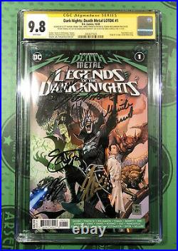 Death Metal Legends Of The Dark Knights 1st Robin King CGC SS 9.8 Signed x 7