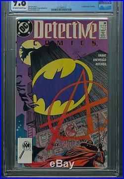 Detective Comics Batman 608 CGC 9.8 1st Anarky DC Gotham City The Dark Knight