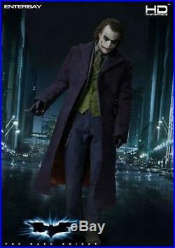 Enterbay- The Dark Knight- The Joker. 1/4 Scale Hd Collectible Figure