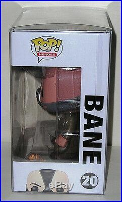 FUNKO POP DC HEROES The Dark Knight Rises BANE #20 RETIRED Vinyl Figure IN STOCK