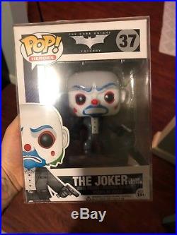 FUNKO POP! The Dark Knight #37 Joker BANK ROBBER mask Heath Ledger NEW Batman