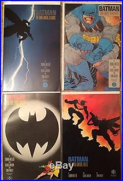 Frank Miller Batman The Dark Knight Returns #1 2 3 4 Complete 1st Print Set
