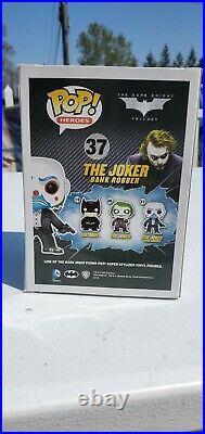 Funko Dark Knight Trilogy The Joker Bank Robber Figure #37 BOX HAS IMPERFECTIONS