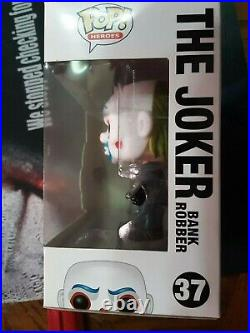 Funko Dark Knight Trilogy The Joker Bank Robber Figure #37 -NEVER OPENED