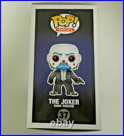Funko Dark Knight Trilogy The Joker Bank Robber Figure #37 NEW DAMAGED RARE