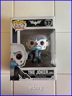 Funko Dark Knight Trilogy The Joker Bank Robber Figure #37 RARE