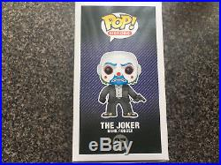 Funko POP! Bank Robber Mask Joker The Dark Knight Trilogy #37 NEVER OPENED