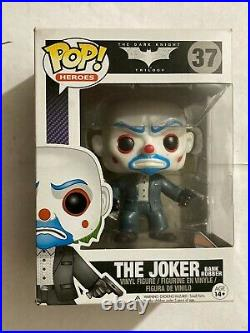 Funko POP Batman The Dark Knight Trilogy 37 The Joker Bank Robber