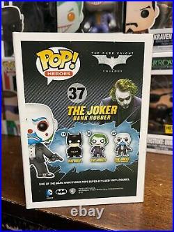 Funko POP! DC Comics The Joker (Bank Robber) 37 The Dark Knight Trilogy
