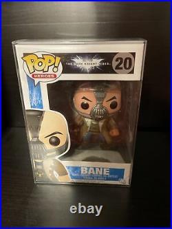 Funko POP DC The Dark Knight Rises 20 Bane Minor Box Damage With Protector