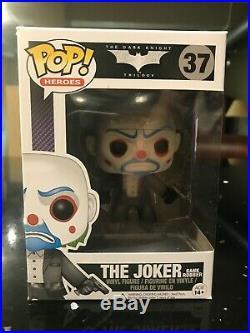 Funko POP! Heroes #37 The Joker (Bank Robber) from The Dark Knight NIB