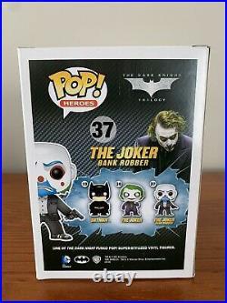 Funko POP! Heroes The Joker Bank Robber #37 (The Dark Knight Trilogy) VAULTED