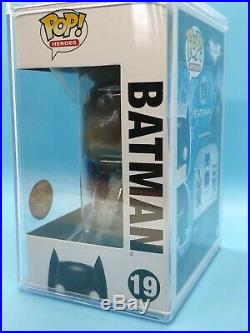 Funko POP! Heros The Dark Knight 19 Batman (Patina) SDCC 2012 480 PCS
