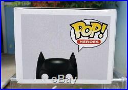 Funko POP! Heros The Dark Knight 19 Batman (Patina) SDCC 2012 480 PCS