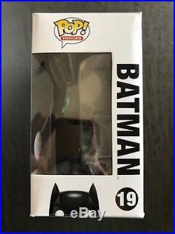Funko POP! SDCC 2012 Batman (The Dark Knight) Patina POP Limited 480 Pieces