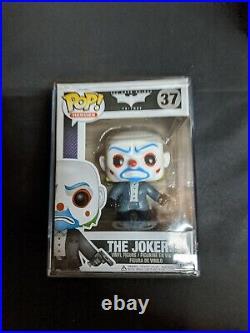 Funko POP! The Dark Knight Bank Robber Joker #37 VAULTED RARE GRAIL