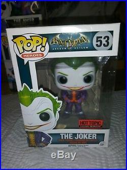 Funko POP! The Dark Knight Joker Bank Robber # 37 Vaulted Rare