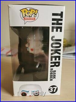 Funko POP! The Joker BANK ROBBER RARE #37 (The Dark Knight Trilogy) Near Mint