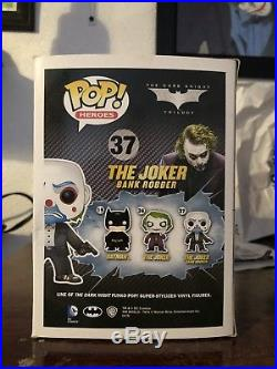 Funko POP! Vinyl DC The Dark Knight THE JOKER BANK ROBBER #37 RARE RETIRED HTF