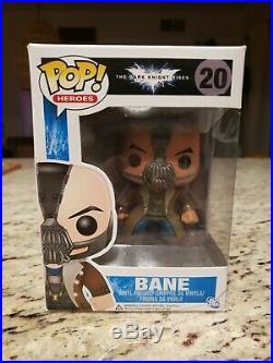 Funko POP! Vinyl Heroes The Dark Knight Rises Bane #20 VAULTED/RETIRED