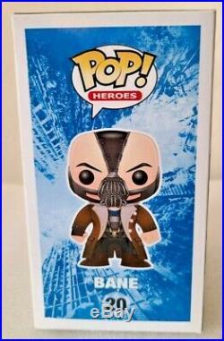 Funko Pop! Bane #20 DC The Dark Knight Rises 2012 Heroes Vaulted