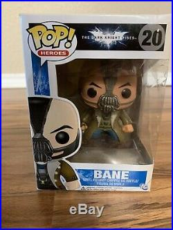 Funko Pop Bane #20 The Dark Knight Rises Vinyl Figure with Protector Box Damage
