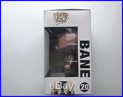 Funko Pop Bane The Dark Knight Rises DC Heroes #20 Vaulted Hard Protector
