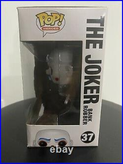 Funko Pop! Bank Robber Joker #37 The Dark Knight Vaulted Authentic