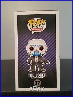 Funko Pop Bank Robber Joker The Dark Knight