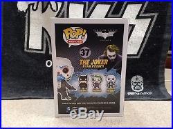 Funko Pop Bank Robber Joker The Dark Knight In Protectector